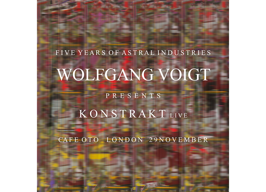 Wolfgang Voigt live at Five Years of Astral Industries