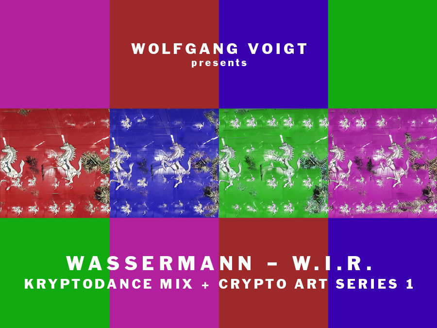 Wassermann - WIR - Krypro Art